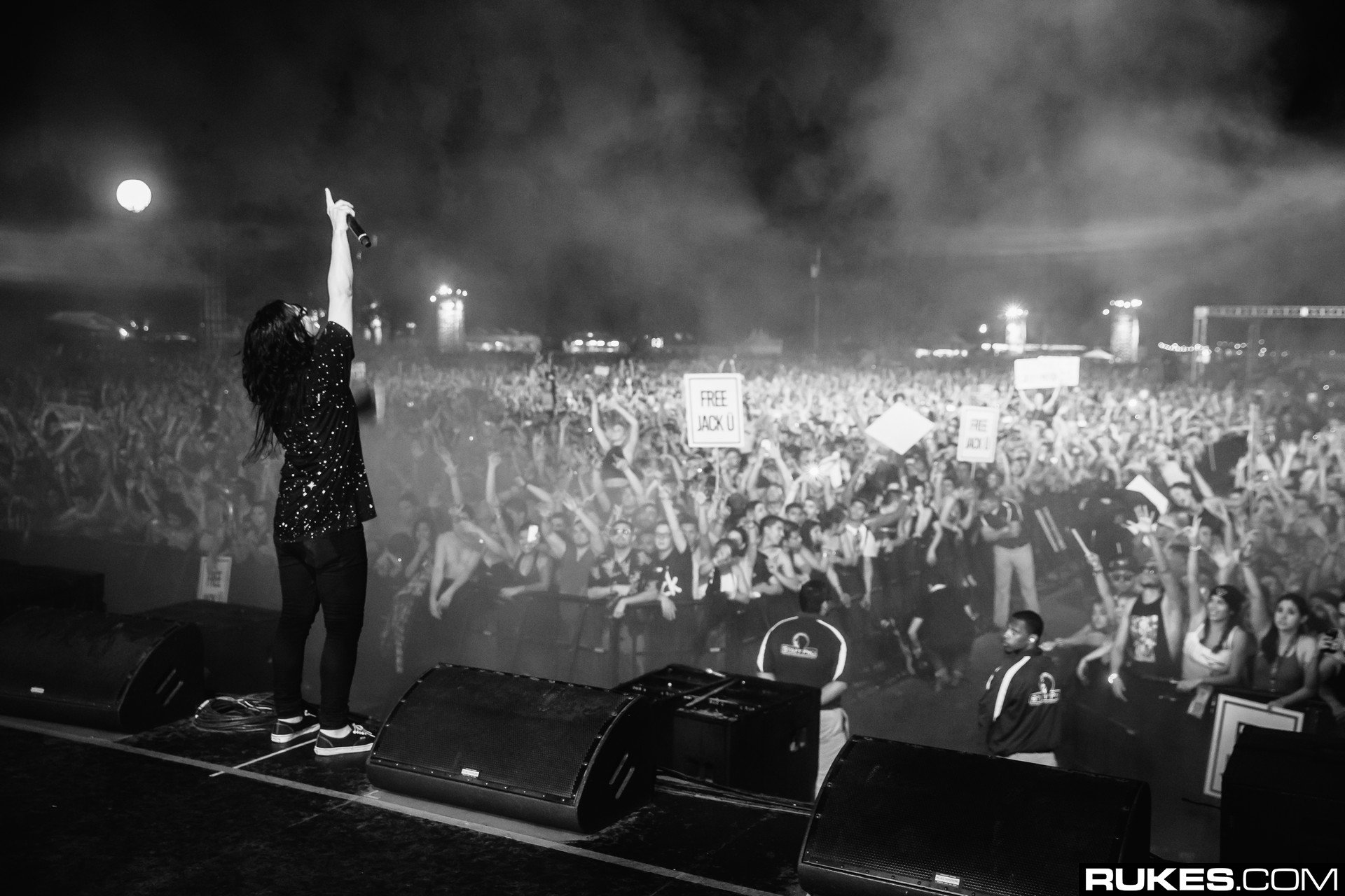 Skrillex At Decadence AZ